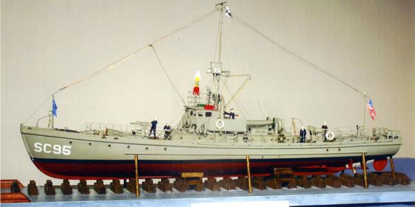 Ship-Models-Wooden-Kits-Cast-Your-Anchor-Dumas-Submarine-Chaser