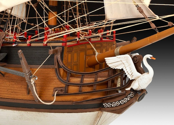 Ship Models Wooden Kits Cast Your Anchor Revell Germany Pirate Ship