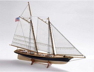 Ship-Models-Wooden-Kits-Cast-Your-Anchor-Billings-Boats-America-Schooner-BB609-560mm - Cast Your ...