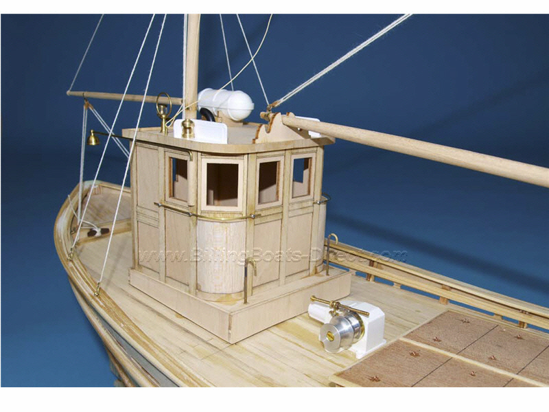 Ship Models Wooden Kits Cast Your Anchor Billings Boats