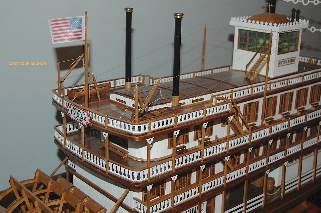 Ship Models Wooden Kits Cast Your Anchor Dumas Carl Moran