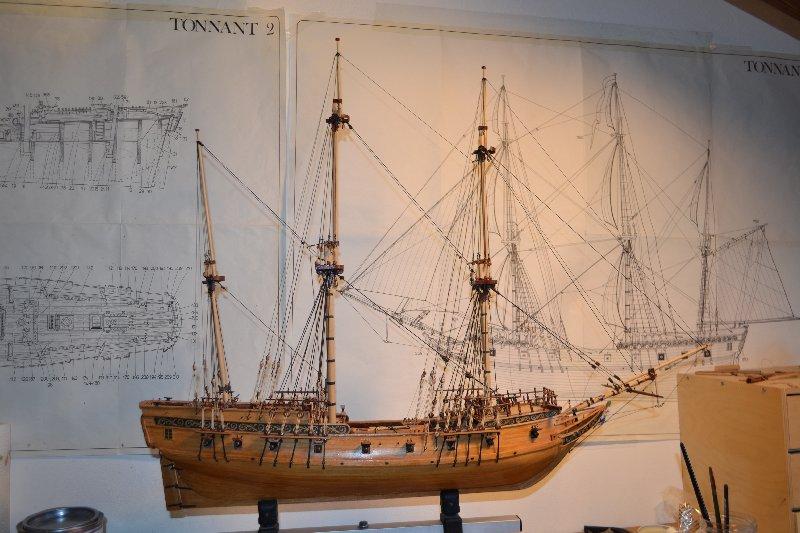 Ship Models Wooden Kits Cast Your Anchor Corel Tonnant