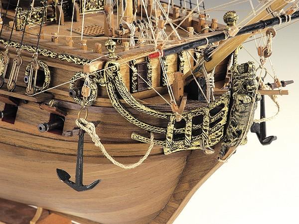 Ship Models Wooden Kits Cast Your Anchor Corel Neptune