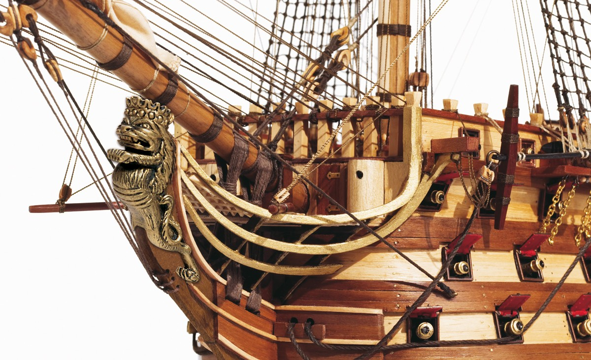Ship Models Wooden Kits Cast Your Anchor Occre Santisima