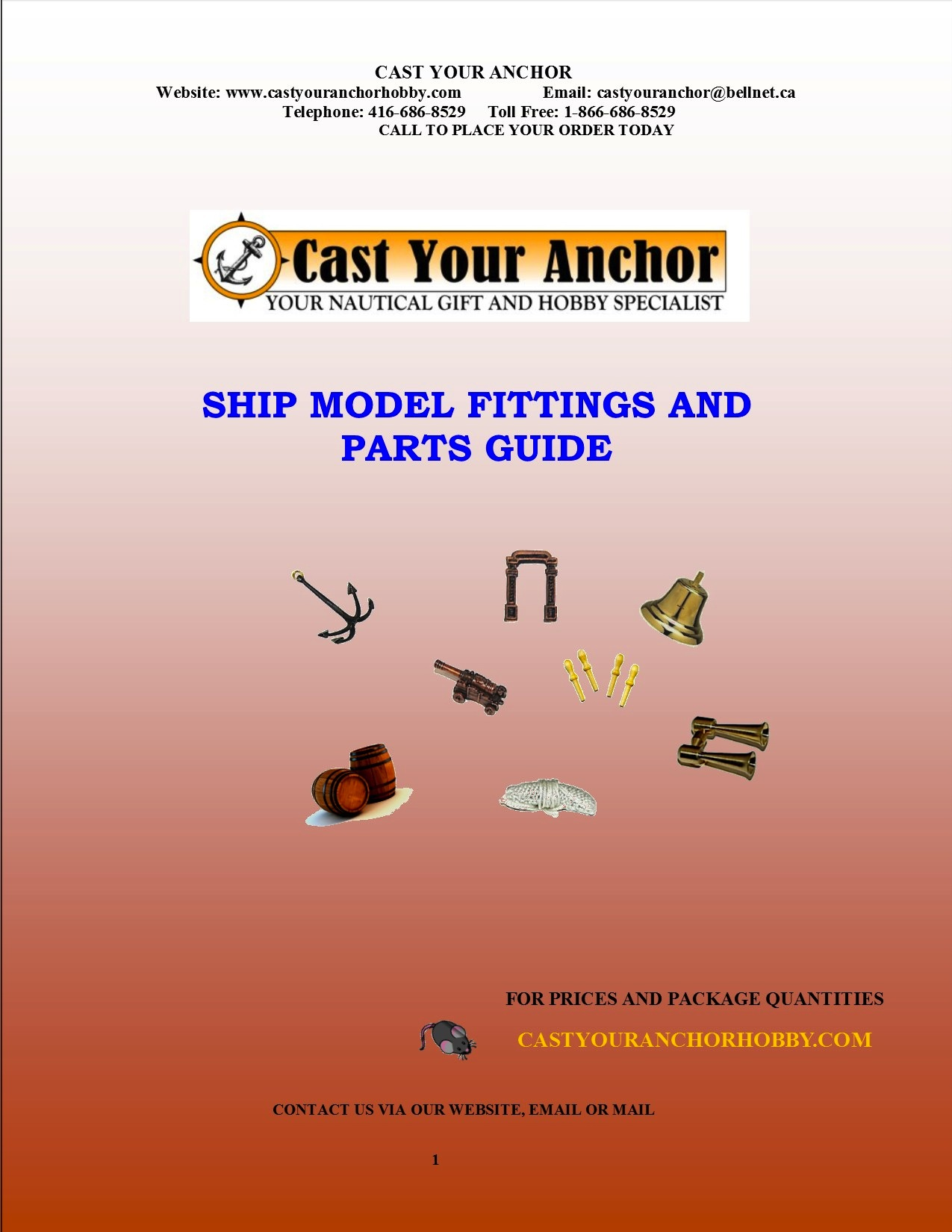 52012 - Ship Model Fittings and Parts Buyers Guide